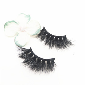 Factory Price Ready To Ship 3D Handmade mink fur  Eyelashes Natural Long Thick Eyelashes