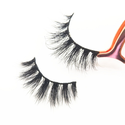 Popular styles mink strip lashes best false strip regular length eyelashes for beauty