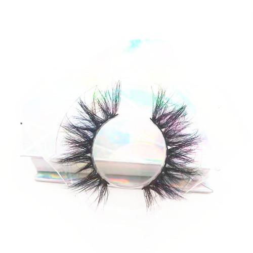 Manufacturer false eyelashes natural length real mink 3D eyelashes strip