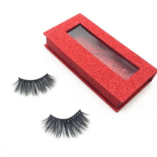 Handmade Soft 100% Mink Stripe False Eyelashes Natural Long Thick Eye Lashes  Vendors