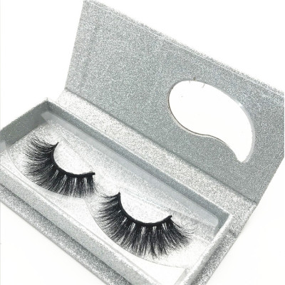 100% cruelty free lashes faux mink strip eyelashes false eyelashes with custom eyelash packaging box