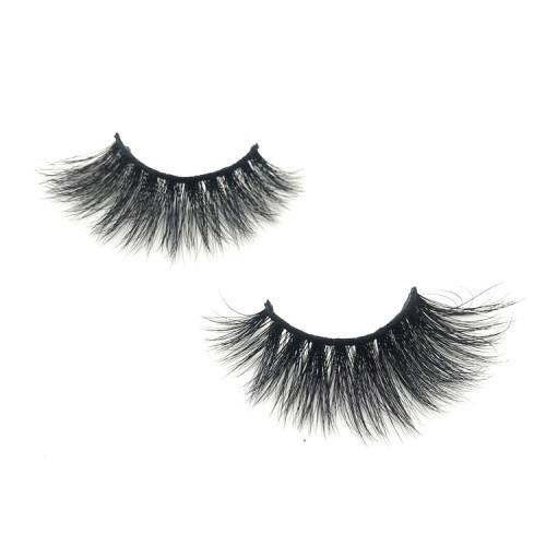 Wholesale private label eyelashes 3d mink,100% real mink lash origin Qingdao,China