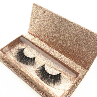False eyelash 3 pair private label eyelashes 5d mink wholesale eyelash box packaging
