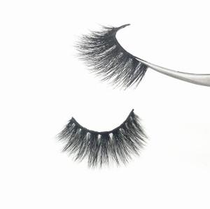 False eyelash 3 pair private label eyelashes 5d mink wholesale eyelash box packaging