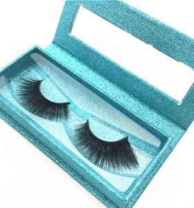 Wholesale individual mink eyelash,korean handmade lashes, customer eyelashes packaging