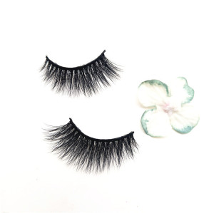 Veteran top quality mink eyelashes wholesale private label mink eyelash ,6 pair of lashes