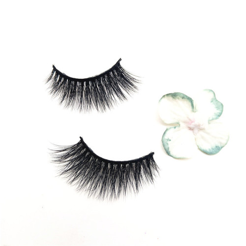 Veteran top quality mink eyelashes wholesale private label mink eyelash ,6 pair of lashes