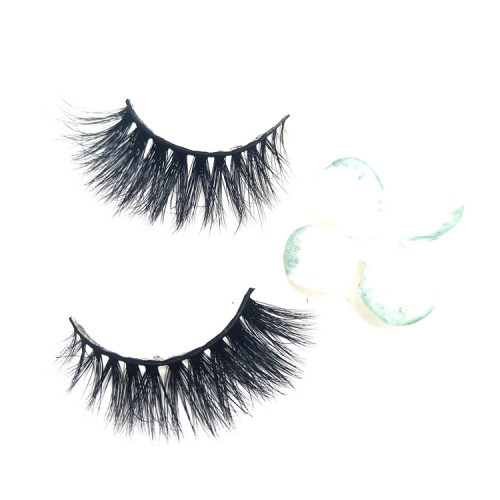 100% mink fur eyelash with false eyelashes box vendor accepted custom eyelash packaging