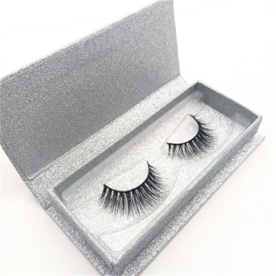 Qingdao premium 3D mink eyelash real 100%3d mink eyelashes with custom packaging private label