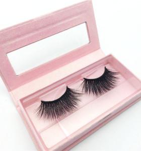 Lash Packaging Premium Luxury 3D Mink Lashes Natural Mink Eyelashes with Eyelash Box Packaging
