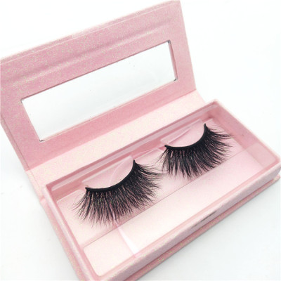Lash Packaging Premium Luxury 3D Mink Lashes Natural Mink Eyelashes with Eyelash Box Packaging