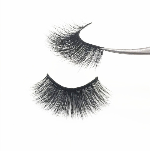 Lashes Clear and soft Band  High Quality Pure Customised Best Real 3D Mink Eyelashes