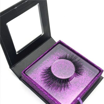 Make Own Brand Private Label Mink Eyelashes Vendor Real Mink Lashes 3D Real Mink Eyelashes Boxes