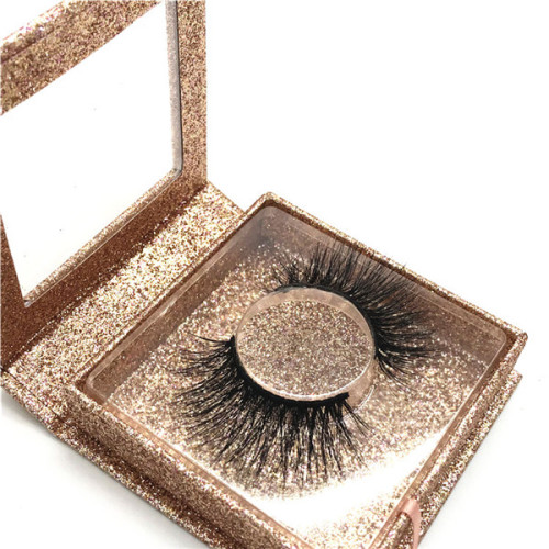 100% Mink Fur Eyelash Wholesale Private Label Eyelash Customize Packaging Real 3D Mink Eyelash