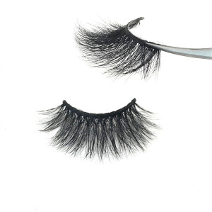 100% Mink Fur Eyelash Wholesale Private Label Eyelash Customize Packaging Real 3D Mink Eyelash