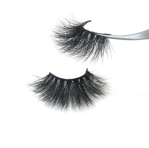 25mm real mink eyelash wholesale creat your own brand eyelashes customer logo 3d mink eyelashes