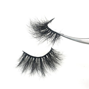 Wholesale Private Label 25mm lashes, Handmade Real Mink Lashes 3d Mink Eyelashes Vendors From China