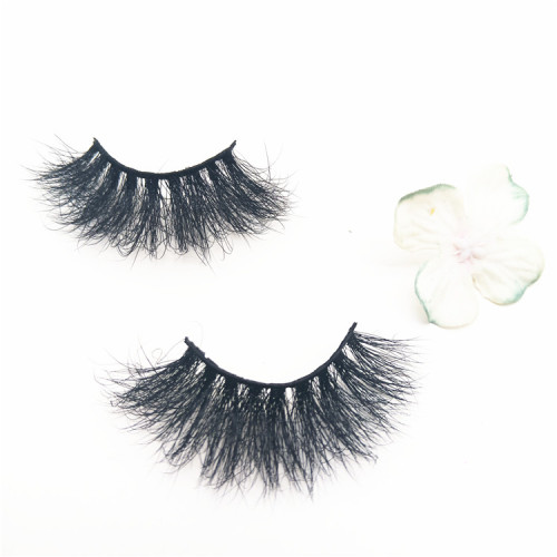 25mm Mink Eyelashes Private Label Thick Mink Lashes Vendor, eyelash packaging box 25mm eyelashes