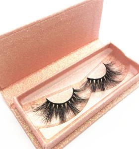 5D Mink Lashes Private Label With magnetic Box Mink Eyelash Custom logo packing design box eyelashes