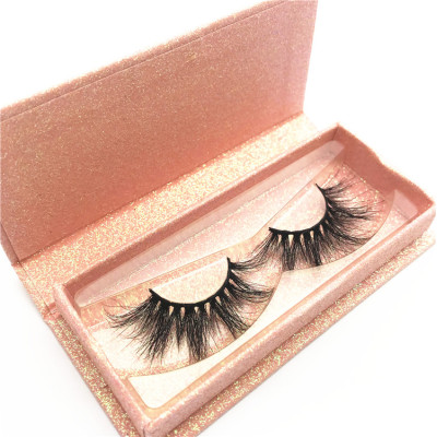 5D Mink Lashes Private Label With magnetic Box Mink Eyelash Custom logo packing design box eyelashes