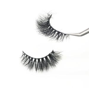 Popular 100% Real Mink 3D False Eyelash Strips Lashes Custom Logo eyelashes boxes