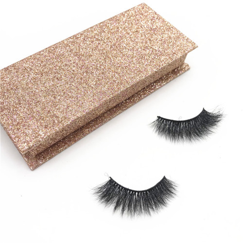 3d mink effect eyelash 3d real mink eyelashes with custom packaging