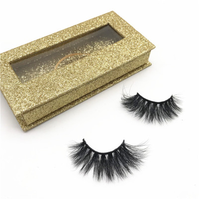 Wholesale mink eyelashes vendor 3D luxury mink eyelashes fluffy eyelashes mink private label