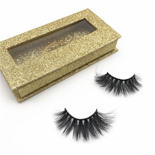 Wholesale mink eyelashes vendor 3D luxury mink eyelashes fluffy eyelashes mink private label