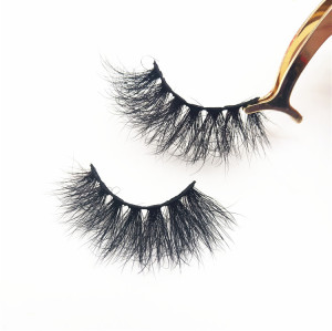 Wholesale Real 5D Mink Lashes Cruelty Free Dramatic 5D Mink Eyelashes Custom Eyelash Packaging