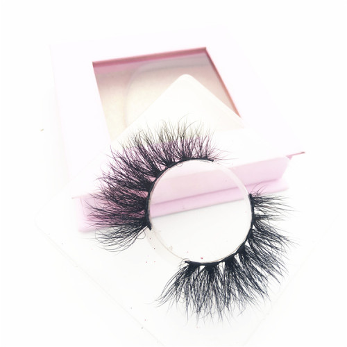 Wholesale Real 5D Mink Lashes Cruelty Free Dramatic 5D Mink Eyelashes Custom Eyelash Packaging
