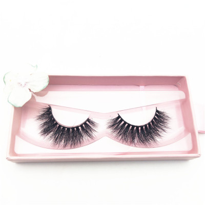 Full Handmade Mink Lashes Pingdu City Factory Supply Qingdao Real Mink False Eye Lashes