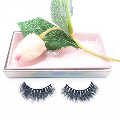 Full Handmade Mink Lashes Pingdu City Factory Supply Qingdao Real Mink False Eye Lashes