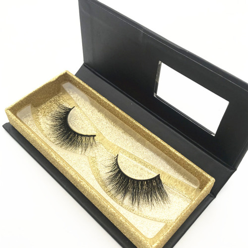 Natural looking 3d mink eyelashes strip for private label eyelashes boxes,Korea eyelashes
