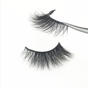 Natural looking 3d mink eyelashes strip for private label eyelashes boxes,Korea eyelashes