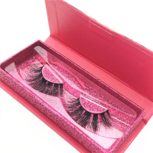 Wholesale Own Brand  Package Private Label Mink Eyelashes Siberian Mink Eyelash Strips