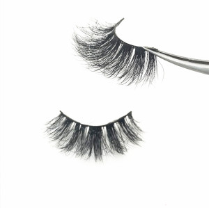 Wholesale Own Brand  Package Private Label Mink Eyelashes Siberian Mink Eyelash Strips
