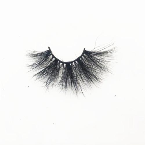 Cruelty-free Fluffy 25mm Super Long Thick Eyelashes 5D Mink,Fashionable Eyelashes Boxes
