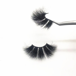 25mm Extra Long Mink 5d Lashes mink bulk 25 mm Custom Eyelash Packaging ,25mm Eyelashes Vendor