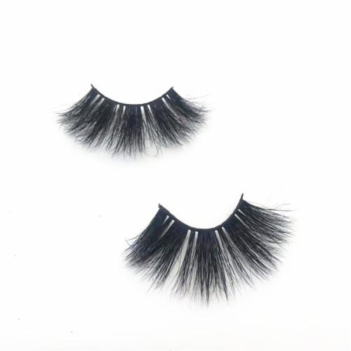 Siberian 25mm 3D Mink False Lashes 100% Real Mink Fur Eyelashes,Customized Eyelashes Packaging