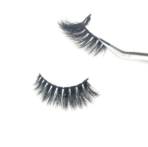 Professional eyelashes vendors wholesale bulk 3D mink eyelashes, 5D mink false eyelash mink