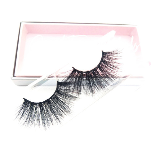 Custom Packaging Boxes 25mm mink eyelash 5d mink lashes vendors With Private Label Eyelashes