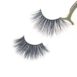 25mm Mink Eyelashes Vendor Creat Your Own Brand 100% Real Fur 5D Mink 25Mm Eyelashes