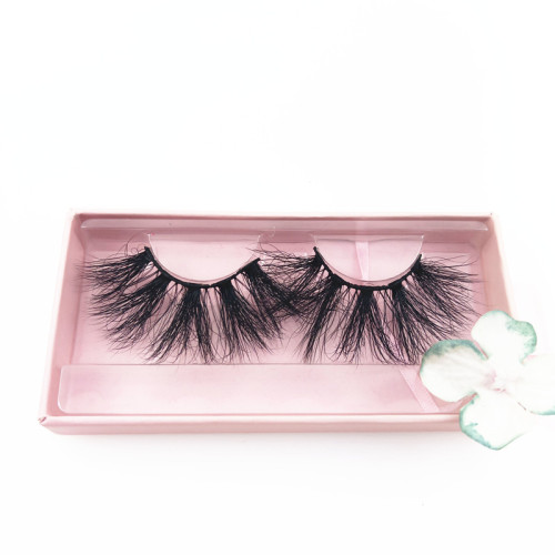 Wholesale custom mink lashes 25 mm mink lashes 25mm eyelashes 3d with free packaging boxes