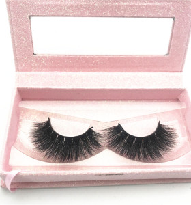 Luxury 3d mink eyelashes ,soft black cotton band mink eyelashes,wholesale 3D Siberian Mink Eyelashes