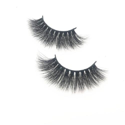 Makeup Private Label 3D real mink eyelashes creat your own brand eyelashes 3d mink eyelashes