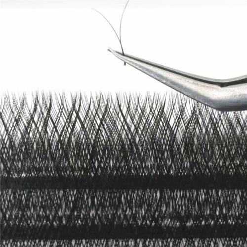 Professional lashes vendors wholesale YY silk eyelashes Korean silk eyelashes extension