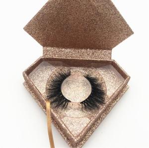 Professional eyelashes vendors wholesale real mink eyelashes packaging box 3d mink eyelashes