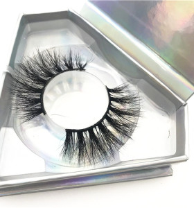 Private label eyelash mink vendor, 5d mink fur lashes , New style Mink Eyelashes with packing box