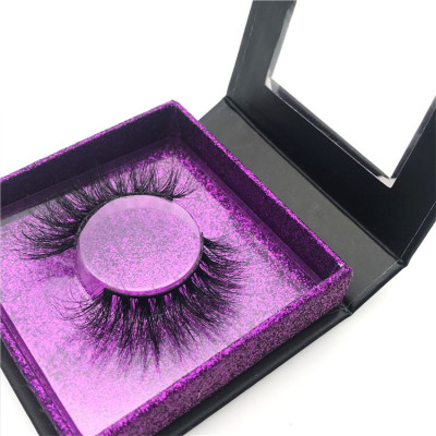 Wholesale Custom Packaging Mink Eyelashes Own Brand Private Label 100% Real Mink Lashes 3D Mink Eyelashes