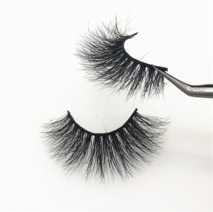 100% Mink Fur Eyelashes Wholesale Private Label Mink Lashes, Customize Packaging Real Mink Eyelashes